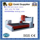 Máquina de gravura CNC de corte de gravura de metal de tamanho mini