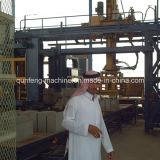 Bloc automatique faisant la machine rayer/la ligne machine de brique