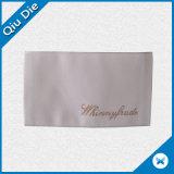 Escritura de la etiqueta tejida manera superior de la tendencia para la ropa clásica