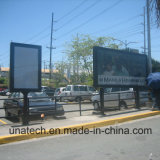 Exhibición de publicidad al aire libre Rolling Billboard LED Light Box