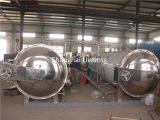 Horizontales Sterilizing Autoclave mit Two Working Pots