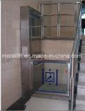 안전 가장자리를 가진 유압 휠체어 승강기