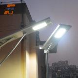 Solarstraßenlaternedes Hartglas-Lampenschirm-Material-LED