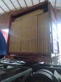 Armadietto di vetro della porta a battenti delle quattro mensole registrabili