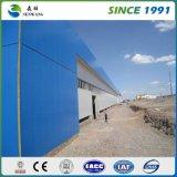 Estructura de acero prefabricada almacén para la construcción de la industria