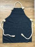 Avental lavado por atacado feito sob encomenda da cozinha da sarja de Nimes
