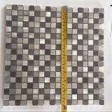 Tegel van het Mozaïek van het Roestvrij staal van het Metaal van China Manufactory de Goedkope Vierkante