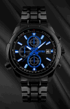 ODM/OEMの方法水晶動きのステンレス鋼の防水水晶腕時計