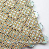 Resina di vetro delle coperture del mare delle mattonelle di mosaico, mosaico bianco puro delle coperture della perla per la decorazione della parete della toletta