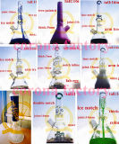 Tabak van de Kleuren van Percs van de Waterpijp van de Waterpijpen van de Percolator en van de Honingraat van 8 Wapen van het Glas van de SCHAR van boorplatforms de Populaire Rokende