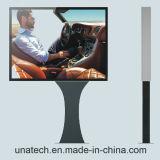 メガ屋外の掲示板太陽Unipole。 COM LEDの印ポスター旗の屈曲媒体の水平のライトボックス