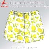 Shorts della spiaggia di disegno di Healong dei vestiti degli uomini freschi di sublimazione
