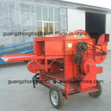 Het landbouwbedrijf voert de Dorser van de Korrel van de Tarwe met Dieselmotor uit