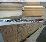 Lengte van uitstekende kwaliteit 3960mm LVL van de Steiger van de Pijnboom Plank