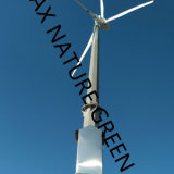 gerador de turbina do vento de 120-240VAC 60Hz, conetado à grade da cidade