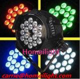 Lámpara de LED RGBW 4en1 10W X 24PCS PAR Discoteca escenario