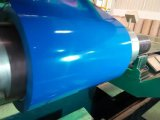 Le matériau de construction laminé à froid a enduit la bobine d'une première couche de peinture en acier galvanisée