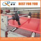Estirador plástico de la alfombra de la estera de la moneda del PVC que hace la maquinaria