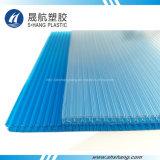 El panel del panal del policarbonato para el material para techos del edificio