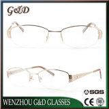 Nuevo diseño de gafas Gafas de armazón de metal Marco de óptica