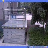Rollstuhl Scissor Aufzug mit Schutzabdeckung