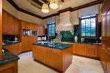 Gabinete de cozinha da madeira contínua e mobília #281 da cozinha