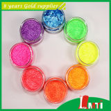 Resistance solvibile Colored Glitter Powder per Nail Polish
