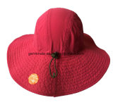 Chapéu impermeável de Sun da cubeta da forma na tela 100%Polyester (LY101)
