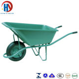 Pintar o Wheelbarrow verde