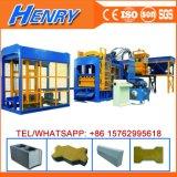 Qt10-15 La pression hydraulique machine à fabriquer des briques de ciment Curbstone caler la machine