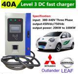 Niveau 3 Elektrische het Laden van de Auto Posten