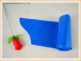 HDPE/LDPE de Vuilniszak van het Afval van de plastic Sterkte op Broodje