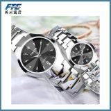 Horloge van de Armband van het Polshorloge van het metaal het Unisex-