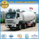 8X4 op zwaar werk berekende 35 van Sinotruck HOWO Ton van de Mixer van het Cement de Concrete Vrachtwagen van 30 M3