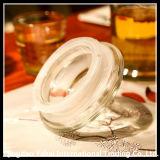 أسطوانة واضحة زجاجيّة جالون مرطبان