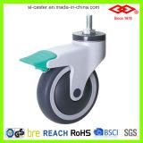 Roda de casco médica sem ruído (P503-34E100X32C)