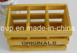 Vintage de luxo de alta qualidade Customized Eco-Friendly Caixa de armazenamento de madeira maciça