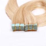 6# brésilien de la trame de la peau des cheveux humains 16 18 20 22 24  Middle Brown Remy Cheveux humains Promotion 20pcs Cheap Extenisons de cheveux de bande
