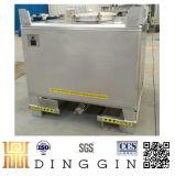 SUS304 1000L de Totalisator van het Roestvrij staal IBC