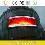 Curved esterno Arc LED Video Display Screen per Advertisng