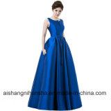 Frauen-eleganter Abend-Kleider V-Öffnung Rückseiten-Abschlussball-formales Partei-Kleid