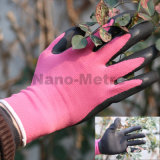 Nmsafety Super Soft Foam Latex Coated Gardening Work Gloves