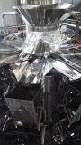 Maquinaria de empacotamento vertical da massa automática com o 10/14 de pesador das cabeças