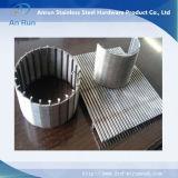 Cilindro qualificato del filtro dell'olio dello schermo della rete metallica dell'acciaio inossidabile