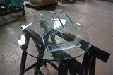 стекло мебели Tempered стекла полки индикации вина форм 8mm прямоугольное нутряное