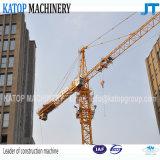Guindaste de torre da série Tc5613 do tipo Qtz80 de Katop para o canteiro de obras