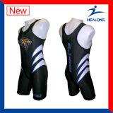 Le Design de Mode Sportswear Healong personnalisé impression en sublimation maillots de corps