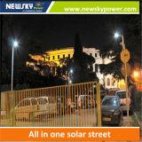 新しい80Wは1つのLEDの太陽街灯のすべてを統合した