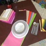 비 길쌈하는 테이블 피복 Tablecover 폴리프로필렌 Spunbonded를 위한 PP에 의하여 인쇄되는 비 길쌈된 직물