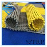 安いプラスチック屋外の滑り止めの連結の自由な流れのガレージの床タイル395*395*12